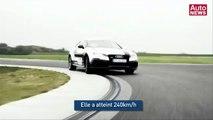 Record de vitesse en voiture sans conducteur