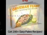 Caveman Diet Basics and Recipes With Best Paleo Cookbooks Using Caveman Feast Paleo Recipe