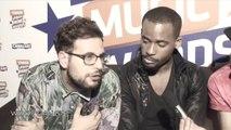 Swagg Man, Passi, Black M, Joke, Woop Gang et Leila (Secret Story 8) aux Trace Urban Music Awards 2014