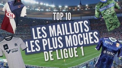 Top 10 des maillots les plus moches de L1 (2014-2015)