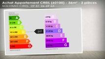 A vendre - appartement - CREIL (60100) - 2 pièces - 36m²