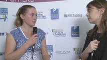 Interview Aliaksandra Sasnovich Internationaux Féminins de la Vienne 2014