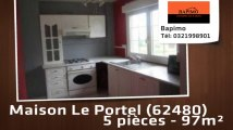 A vendre - maison - Le Portel (62480) - 5 pièces - 97m²