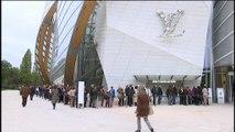 La fondation Louis Vuitton ouvre ses portes au public