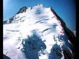 Dom de Mischabel 4545 m de Randa – Valais –Alpes suisses