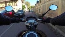 Balade moto sur les routes du Vexin