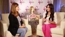 Maite Perroni hablando sobre la donacion de cabello