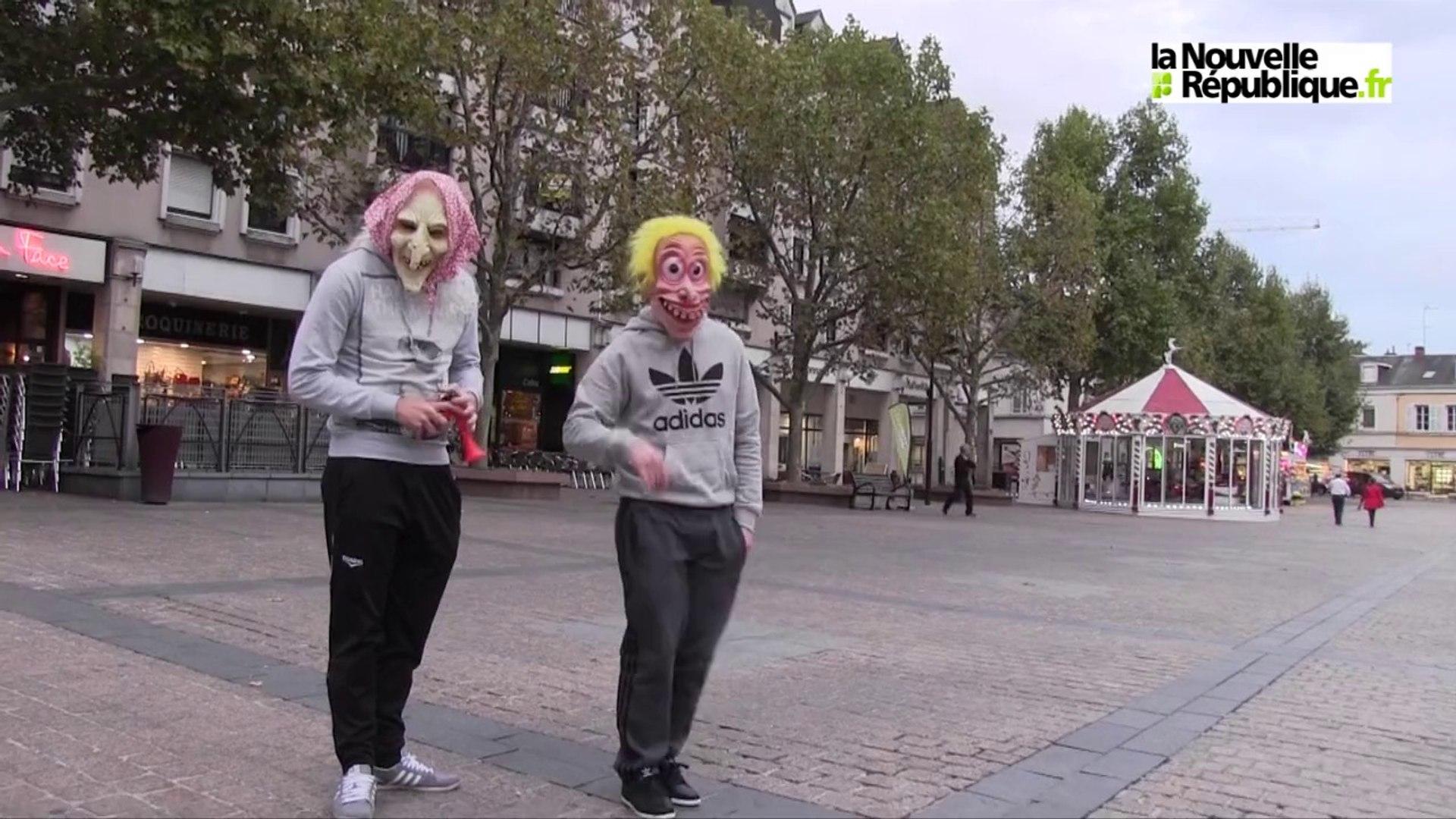 VIDEO. Clowns à Châteauroux : pas de quoi paniquer !