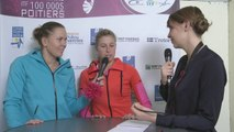 Interview Andrea Hlavackova & Lucie Hradecka Internationaux Féminins de la Vienne 2014