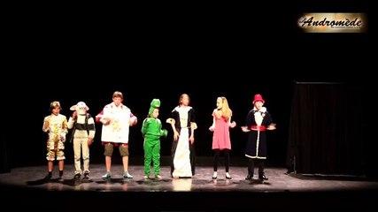 """""""Alice au pays des merveilles"""" par la troupe Andromède - Chanson : """"La méchante reine"""""""