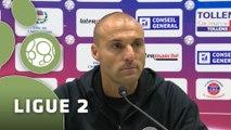 Conférence de presse Châteauroux - Tours FC (2-1) : Pascal GASTIEN (LBC) - Olivier PANTALONI (TOURS) - 2014/2015