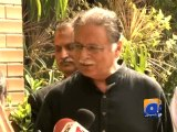 Imran should learn from his mistakes, shortcomings: Pervaiz Rasheed-Geo Reports-25 Oct 2014