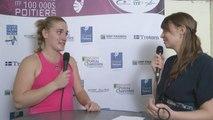 Interview Timea Babos Internationaux Féminins de la Vienne 2014
