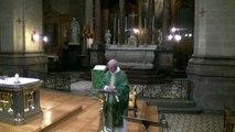 Basilique Saint Sauveur: Homélie du dimance