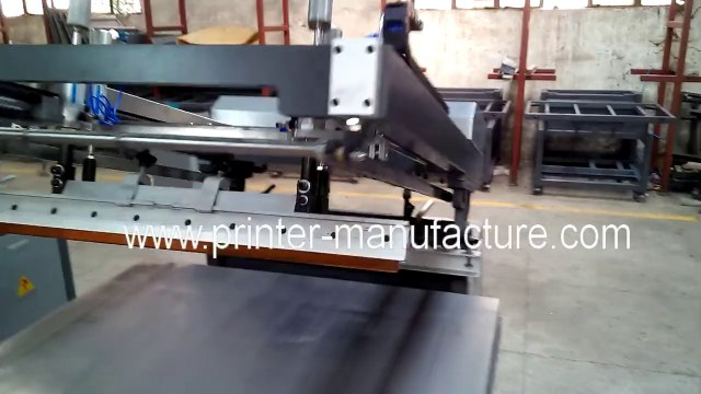 Flat Screen Printing Machine Flat Bed Screen Printer