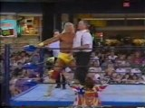 WCW Hulk Hogan vs Big Boss Man @ Nitro 1995-09-04
