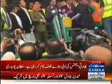 People Threw Tomatoes, Eggs, And Empty Water Bottles At Bilawal Bhutto In London