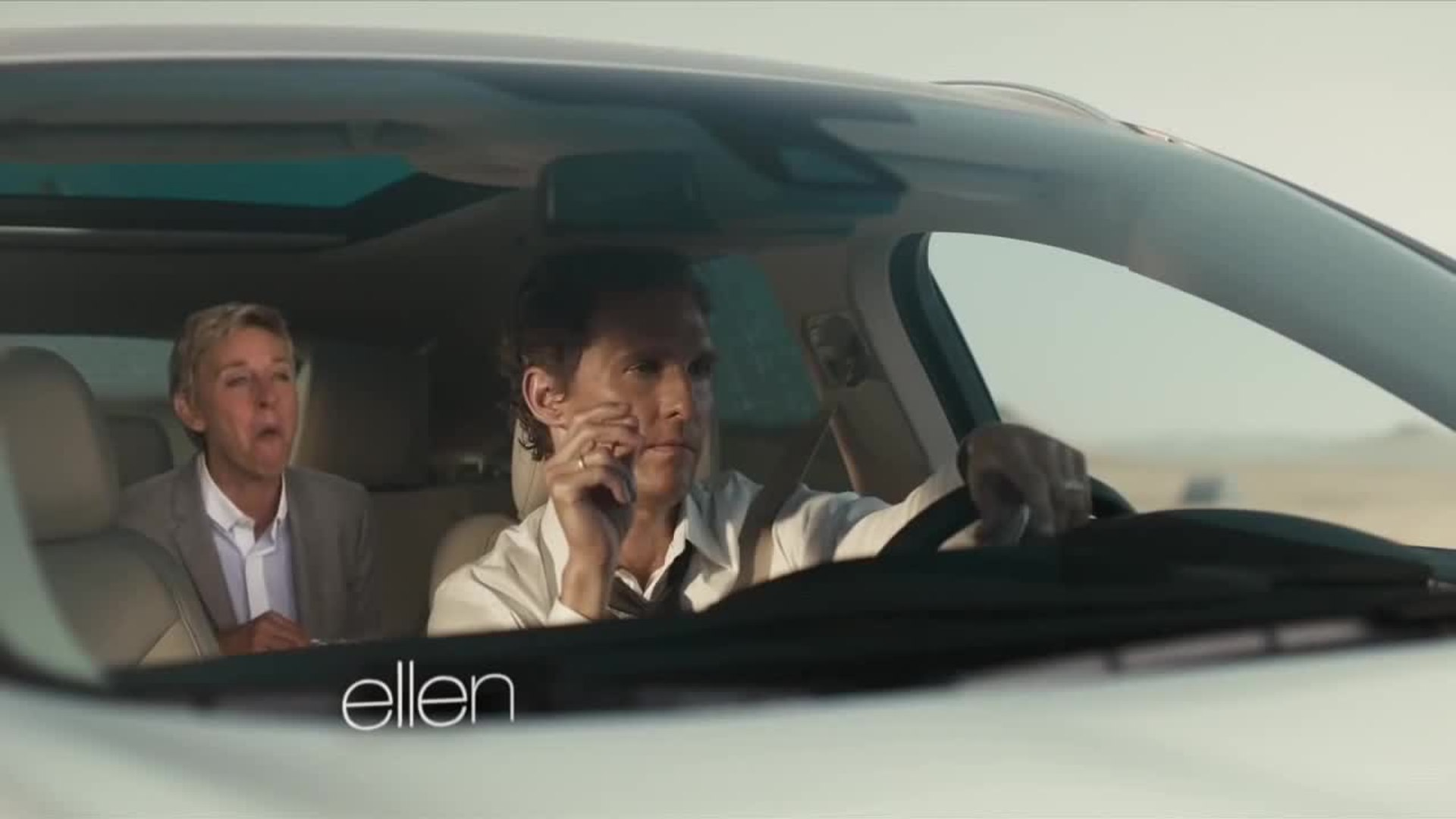 Ellen Parodies Matthew McConaughey's Lincoln Commercial
