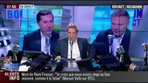 Brunet & Neumann : La mort de Remi Fraisse a-t-elle été instrumentalisée politiquement? - 29/10