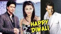 Salman Khan, Shahrukh Khan, Aishwarya Rai | Bollywood Celebs Give Diwali Wishes