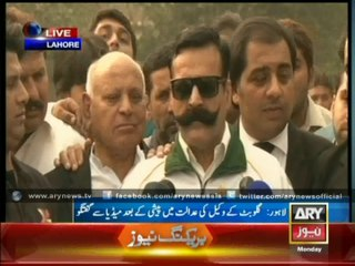 Gullu Butt Refuses To Answer Journalist's Interesting Question