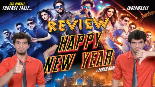 Happy New Year Movie Review - Shahrukh Khan | Deepika Padukone & Abhishek Bachchan