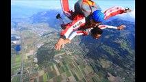 Rémy Skydiving / Saut en parachute - Bex, Switzerland FlyingDevil