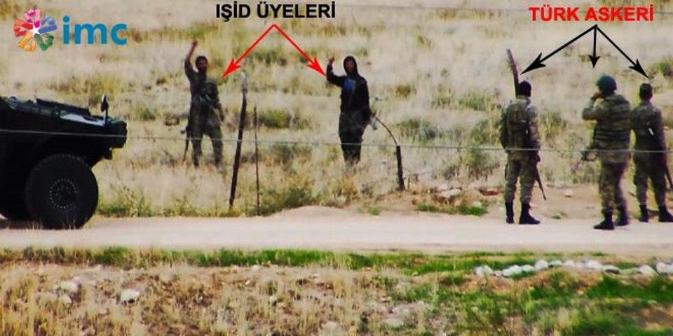 Sınırda IŞİD ve Türk Askeri