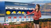 Chillier autumn conditions to set in Tuesday