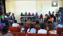 Mexikanische Lehrer protestieren gegen mutmaßliche Entführung von Studenten
