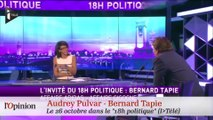 Polémique du jour : Audrey Pulvar 1 - Bernard Tapie 0