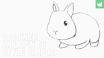 Dessin : Dessiner un lapin (facile) - HD