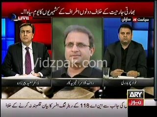 People are frustrated against PPP & PML N , their leaders will face Kashmir Million type incident in other countries also :- Rauf Klasra warna Bilawal & Nawaz