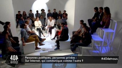 """Personnes publiques, personnes privées : Sur internet, qui communique comme l'autre ?"""""""