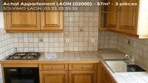 A vendre - appartement - LAON (02000) - 3 pièces - 57m²