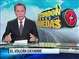 El majestuoso volcán Cayambe