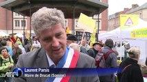 Ferme des 1.000 vaches: les opposants manifestent à Amiens