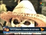 México: miles marchan y exigen aparezcan 43 normalistas de Ayotzinapa