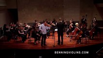 Alex Granger Performs Lucas Floyd Violin Concerto with Violin Crafted by Eric Benning-HD 720p