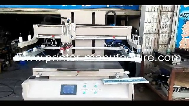 Flatbed Screen Printer Flat Silk Screen Printing Machine