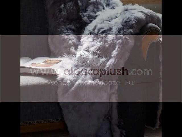 Fur Throws From Alpaca plush