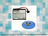 HQRP Battery for TomTom Go 2435, Go 2435TM, Go 2535, Go 2535M, Go 2535M Live, Go 2535T, Go 2535TM, Go 2535TM WTE GPS Navigator 1CT4 019 03 FKM1108005799 4CQ01 4CS03 4CT4 001 01 4CT50 4EN42 4EV42 4EV52 ICP653443M P11P20-03S01 + HQRP Coaster