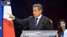 """Nicolas Sarkozy fier de son quinquennat """"sans violence, sans drame"""""""