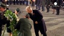Merkel e reis da Bélgica lembram batalha da Flandres