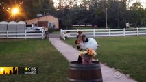 Watch: Groom trips while carrying bride and crashes onto sidewalk