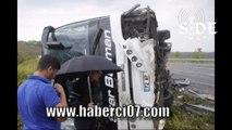 Manavgat Otobüs Kazası - idris zeyrek