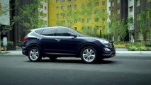 2015 Hyundai Santa Fe Sport 2.0T Preview Blue