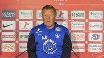 Auxerre-Brest : Alex Dupont en conférence d'avant-match