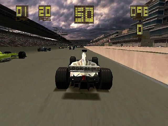 Formula One 2000 – Gameplay – psx