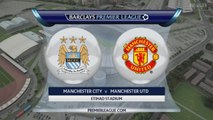 Manchester City vs. Manchester United - Barclays Premier League 2014/15 - FIFA 15 Prediction